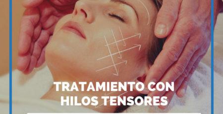 hilos tensores cara tratamiento
